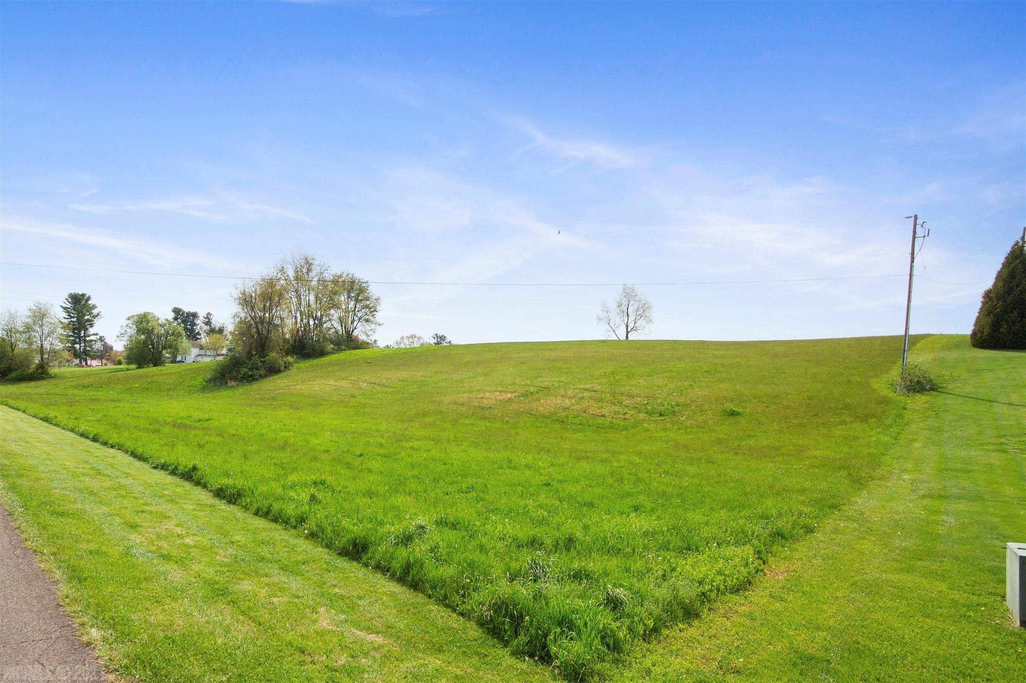Beautiful building lot with country views. Almost 2 acres of land conveniently located close to schools, industry and shopping.