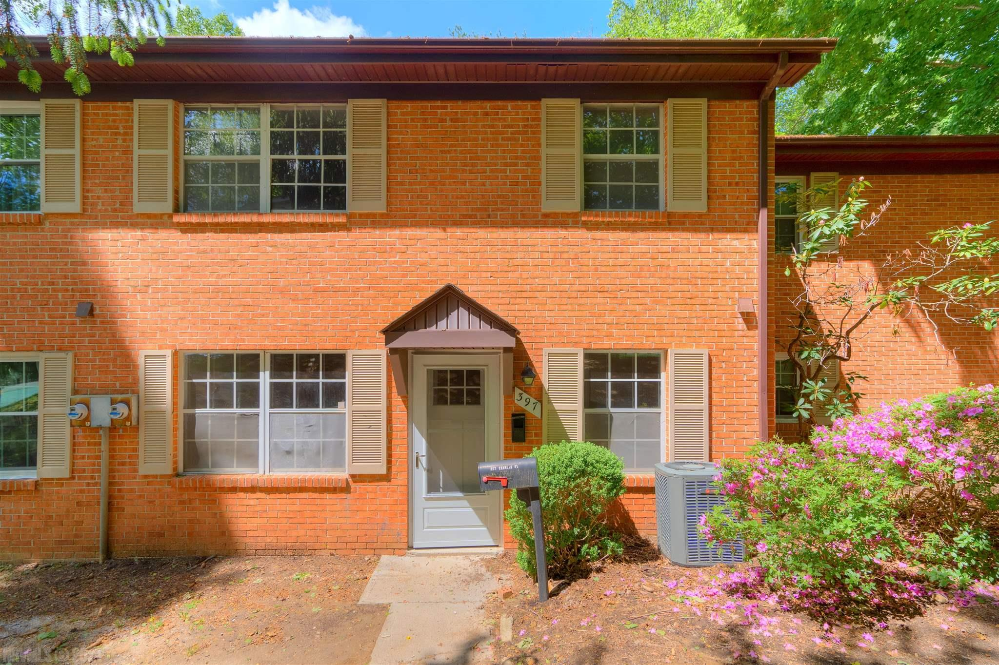 Wonderful opportunity to own a Blacksburg condo, within walking distance of downtown and the First & Main shopping district, in completely renovated condition! The owner has remodeled the entire home in 2021, making this completely turnkey for your first home, or incoming student. Entering the new front door you'll find a large living room to your left, with a dining room to your right. The kitchen was gutted and redone, with Shaker-style cabinets, new countertops and fixtures, and appliances. Luxury vinyl plank floors throughout the main are maintenance-free, and the new stacked washer-dryer fits perfectly in the utility closet. New carpet on the stairs, and upstairs in both bedrooms, and the bathroom was completely redone, as well. Large closets in the bedrooms were reworked for a more modern trim set. Less than 1/2 mile walk to Main Street, or utilize the public transportation that is right outside your front door. HOA fee includes water/sewer/trash, and a neighborhood pool!