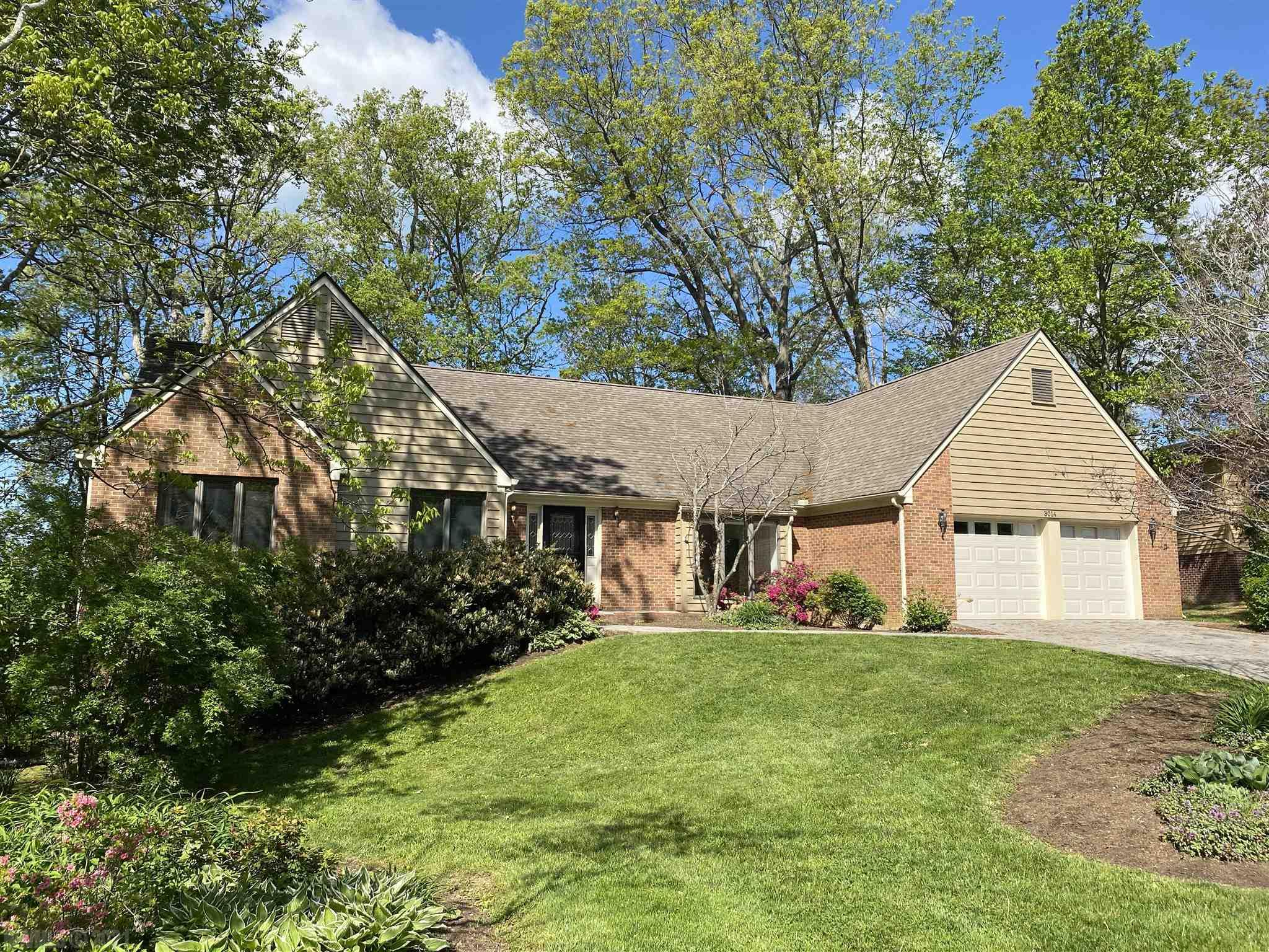 Don't miss this lovely large one level Stroubles Mill home on a full walk-out basement with a large master suite.  Located in a quiet cul-de-sac, next to a neighborhood playground, backing up to a farm, with an easy commute to BHS, BMS, Kipps and VT, the location of this home is amazing.  A large vaulted master suite addition has been added to this home with a sauna.  A vaulted living room and spacious bright kitchen are a few of the special features on the main level. Hardwood floors, built ins, Quartz tops, gas range, wall oven, a newer roof, two hot water heaters, gas heating, wood stove, sauna, & masonry fireplace are other features you will enjoy.  The double car garage has a golf simulator installed in it, along with a ductless split HVAC system.  The lower level has a kitchenette, office, family room and game room, library, plus storage.  Outside is a paved basketball court, a HUGE deck, and beautiful landscaping.  Ready to move right into, please tour this special home today!