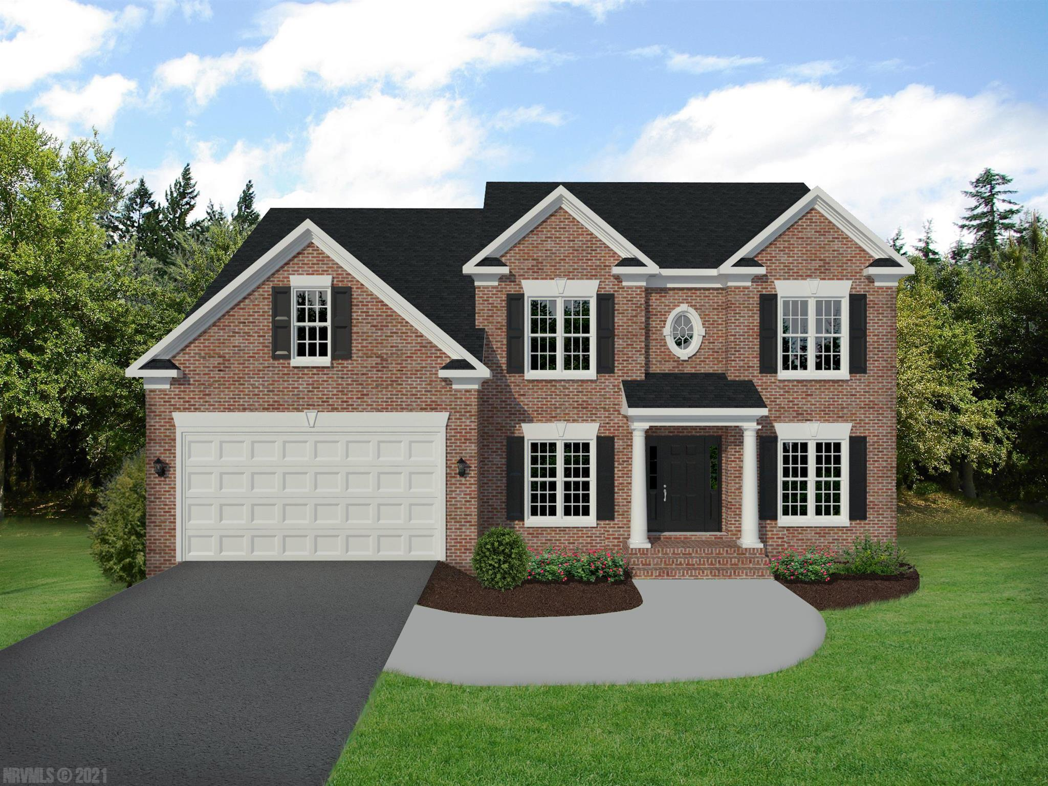 This is a pre-construction listing that is not yet built. Please find information below and pictures attached for our Dovercroft style home which offers 2450 square feet above grade, and 9' framed walls on first floor with smooth drywall finish.  This house plan incorporates hardwoods on the entire main living level, ceramic tile in the baths and laundry, oak treads to the second floor if applicable, and carpet throughout remaining areas.  The master shower offers ceramic tiled walls and floor!  Premium Tahoe cabinets by Timberlake in the kitchen make the home even more beautiful.  The kitchen and bath counter tops are luxurious granite.  Upgraded trim in all finished areas.  Crown molding can be found in the dining room and master bedroom, as well as a chair rail with wainscoting in the dining room.  The exterior finishes consist of double-hung windows, brick, siding, and architectural shingles.