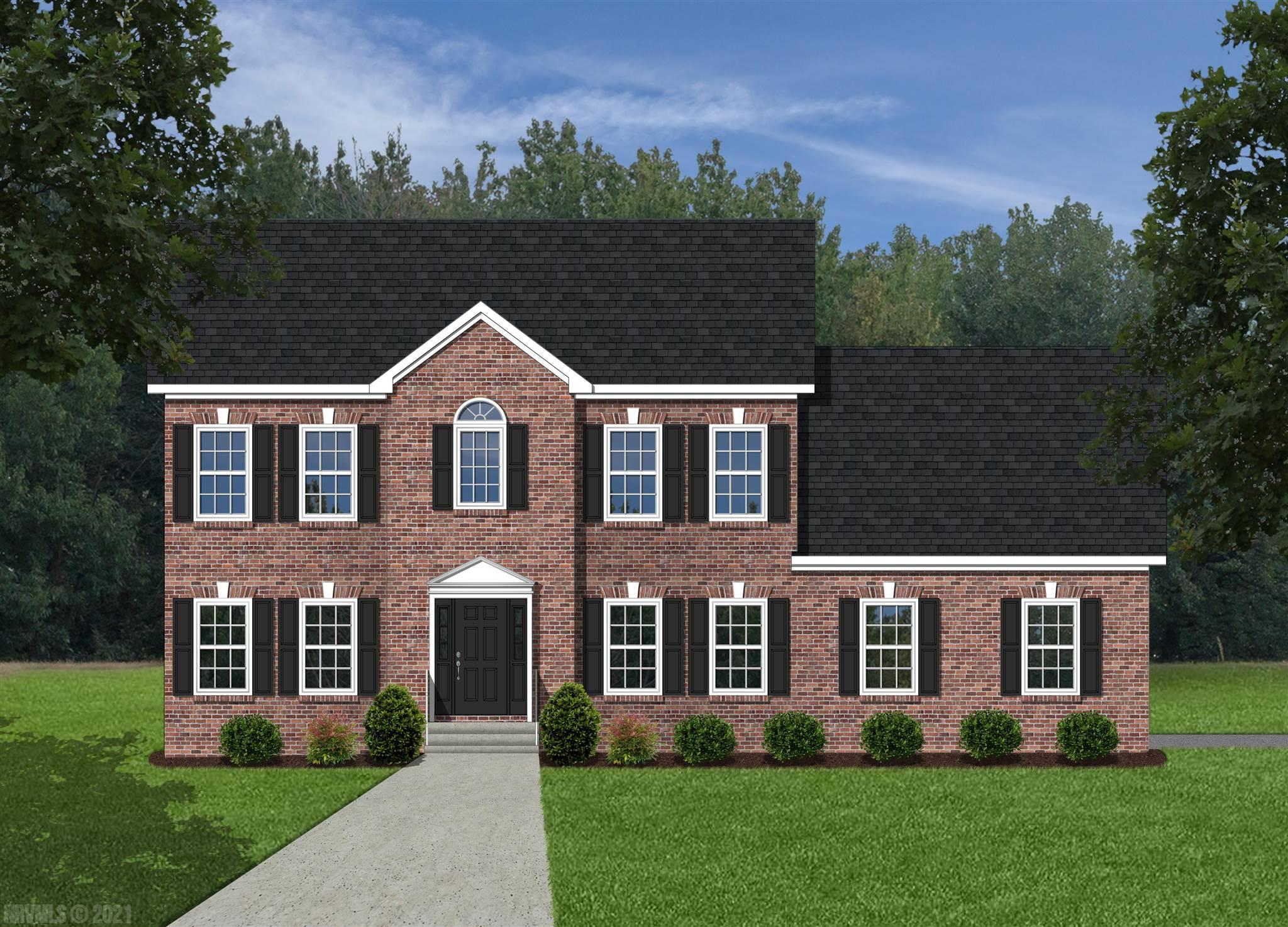This is a pre-construction listing that is not yet built. Please find information below and pictures attached for our Washington style home which offers 2475 square feet above grade, and 9' framed walls on first floor with smooth drywall finish.  This house plan incorporates hardwoods on the entire main living level, ceramic tile in the baths and laundry, oak treads to the second floor if applicable, and carpet throughout remaining areas.  The master shower offers ceramic tiled walls and floor!  Premium Tahoe cabinets by Timberlake in the kitchen make the home even more beautiful.  The kitchen and bath counter tops are luxurious granite.  Upgraded trim in all finished areas.  Crown molding can be found in the dining room and master bedroom, as well as a chair rail with wainscoting in the dining room.  The exterior finishes consist of double-hung windows, brick, siding, and architectural shingles.