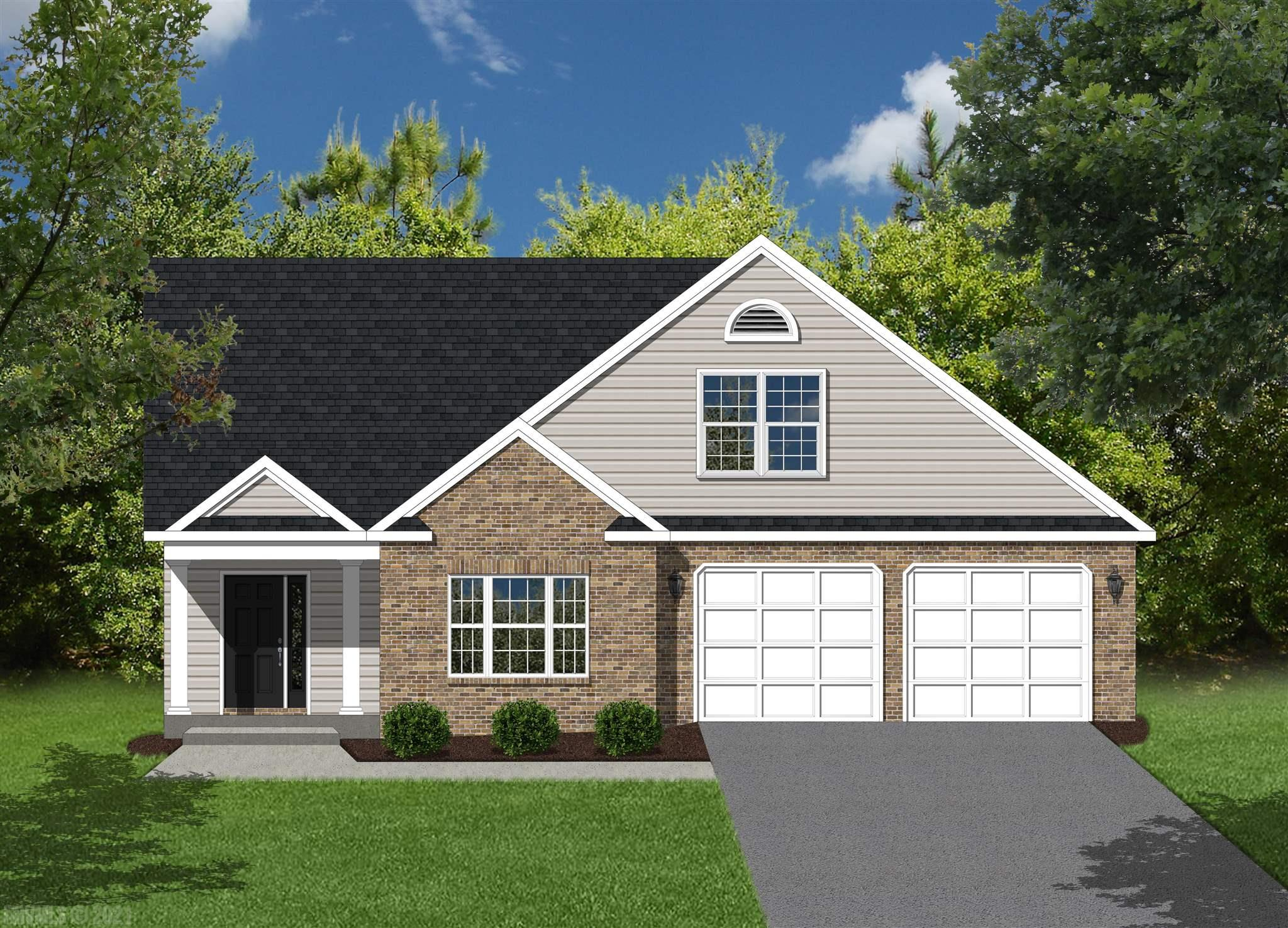 This is a proposed home that is not yet under construction. Please find information below and pictures attached for our Georgetown style home which offers 2346 square feet above grade, and 9' framed walls on first floor with smooth drywall finish.  This house plan incorporates hardwoods on the entire main living level, ceramic tile in the baths and laundry, oak treads to the second floor if applicable, and carpet throughout remaining areas.  The master shower offers ceramic tiled walls and floor!  Premium Tahoe cabinets by Timberlake in the kitchen make the home even more beautiful.  The kitchen and bath counter tops are luxurious granite.  Upgraded trim in all finished areas.  Crown molding can be found in the dining room and master bedroom, as well as a chair rail with wainscoting in the dining room.  The exterior finishes consist of double-hung windows, brick, siding, and architectural shingles.
