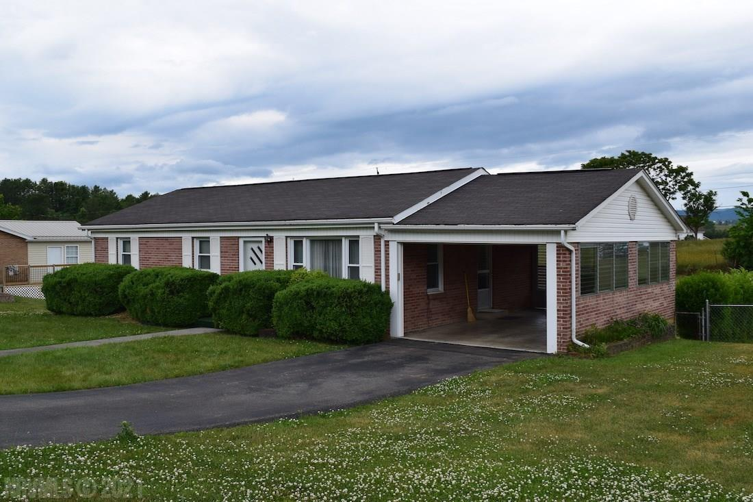 Online Only Auction - Ending July 7th @ 4PM. - Price is starting bid, not reserve. You have the opportunity to purchase a beautiful brick ranch home on .4 acres in Pulaski VA. The home was built in 1963 and has 1,000 +/- sq. ft. of space with 3 bedrooms and 1.5 baths. A portion of the basement is finished with a den, family room and a half bath. The home is on public water and has a private septic system. It has hardwood, tile, and carpet flooring. The property also features large back deck along with a storage building, attached single garage and a detached single garage.