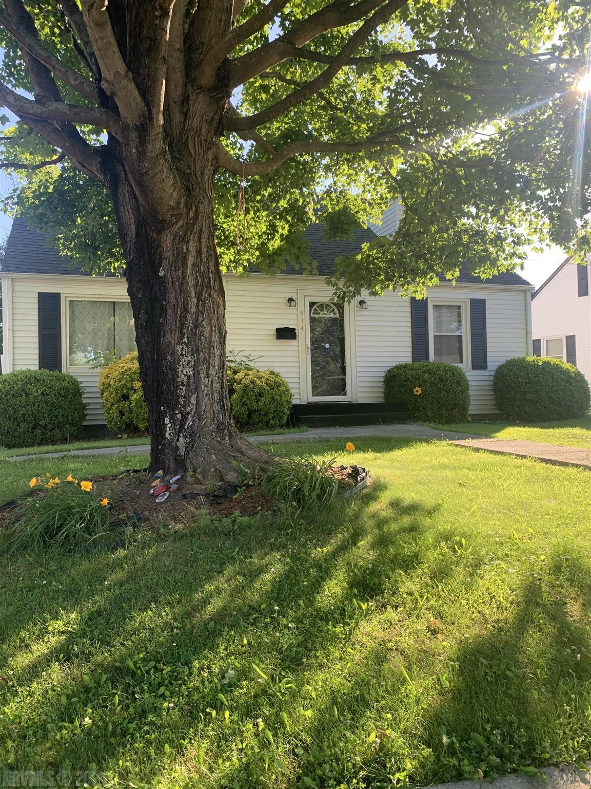 Nestled in the picturesque Fort Branch neighborhood, this charming 3 bedroom home is a must see! Complete with a large living area, full unfinished basement, and plenty of updates along with bonus area upstairs. Call and schedule your showing today!