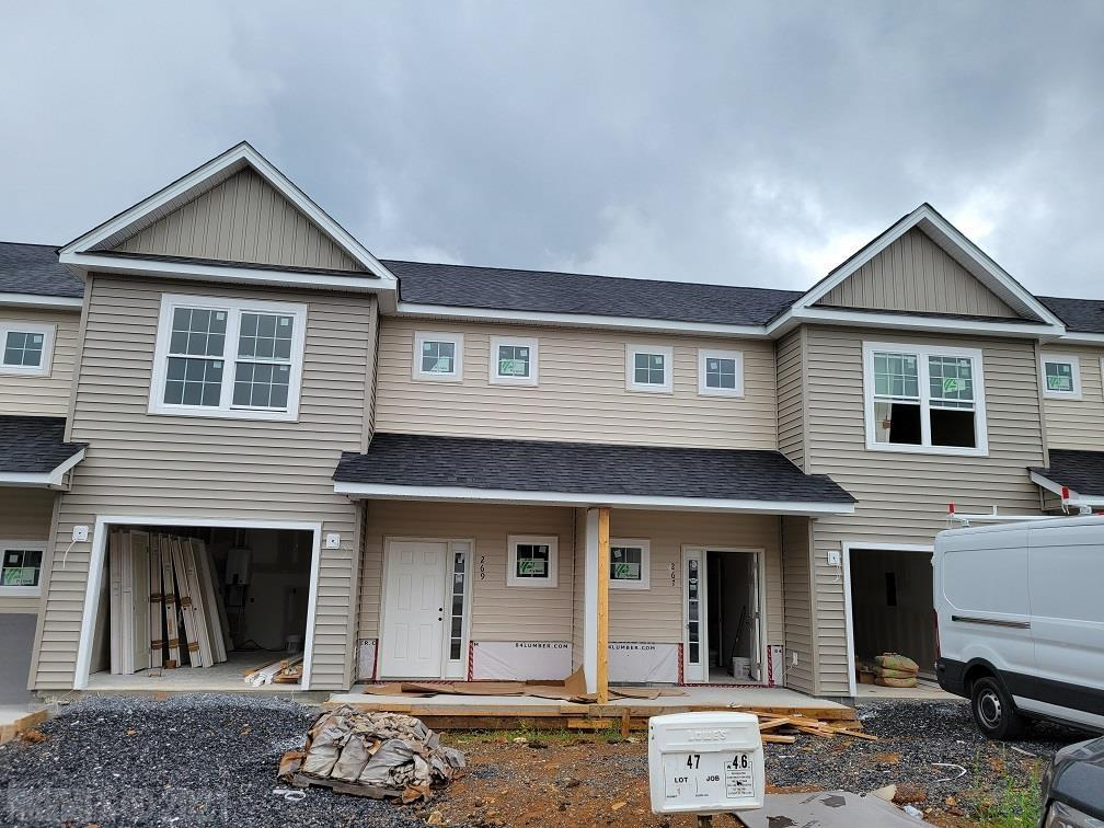 New Townhomes currently under construction. Interior unit, 3 bedroom 2.5 baths. LVP on main level, carpet on steps and bedrooms on upper level. Roll vinyl in laundry and bathrooms.  Granite counter tops in kitchen and baths. Single attached garage.