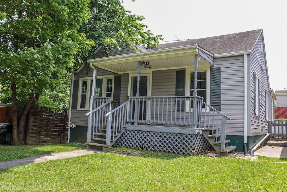 Online Only Auction - Ending August 5th @ 4 PM. Price is starting bid, not reserve. You have the opportunity to purchase a lovely home for Sale in Pulaski County VA. This home features 3 bedrooms, 1 bath and over 1,100 sq. ft. of space! The home is one level with a nice kitchen and dining room area along with a large living room. The laundry is located in the bathroom for easy access. There is a full, unfinished, walkout basement as well. The property has a fenced back yard and a shed out back along with a small building with a carport for parking and storage.