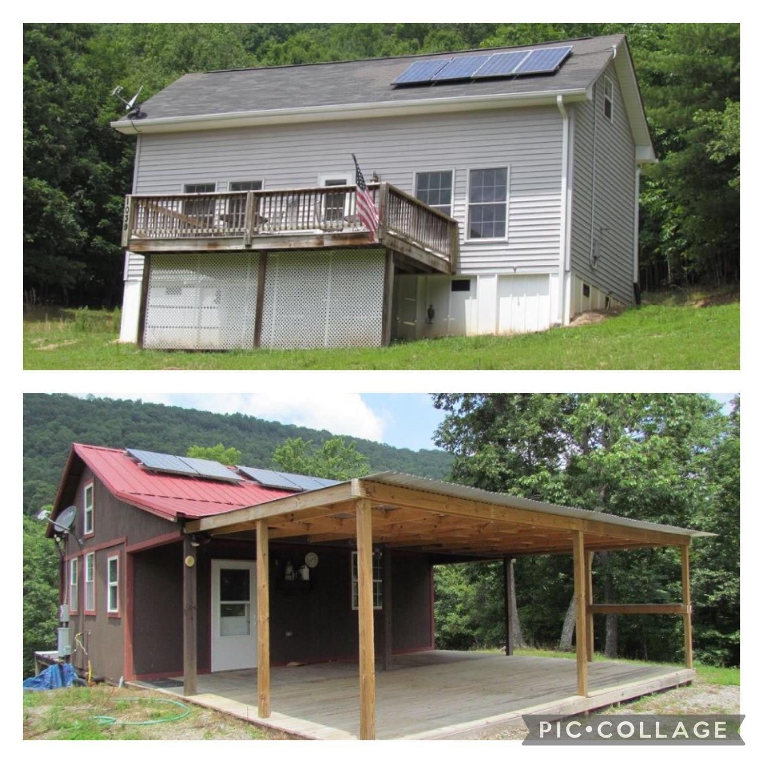 """Are you looking for a great place to unwind, hunt, hike & enjoy being off the grid? Then look no further! This 91 acre tract includes 2 """"off the grid"""" homes that have an artesian well, solar power,propane & generator. One home is approximately 1000 sq/ft & the other is roughly 500 sq/ft. This would be perfect for a hunting property or weekend getaway. There are trails throughout the property & wildlife abound.  Sellers believe one home was built in 2009 & the other 2012. The homes are being sold as is - everything conveys.  It's peaceful, it's private & it can be yours. Schedule your showing today!"""
