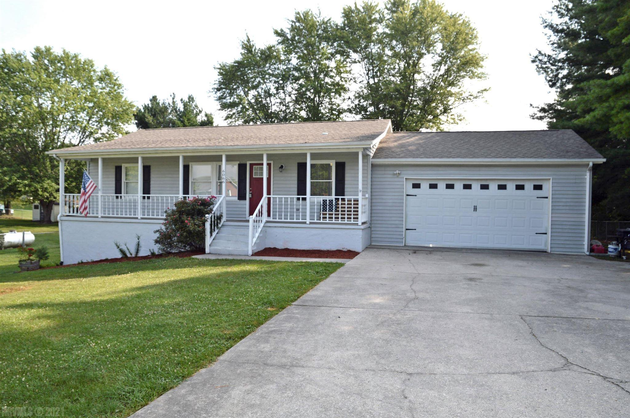 This beautiful, recently remodeled 3BR/3BA home features a full finished basement.  Some of the improvements are white kitchen cabinets, granite countertops, master bath with tile shower, and LVP floors throughout main level.  The huge deck overlooks the level backyard with storage shed.  Main level laundry with W/D included, covered front porch, oversized double attached garage and fenced yard round out the amenities.  New HVAC and roof in 2019. Make your appointment soon!