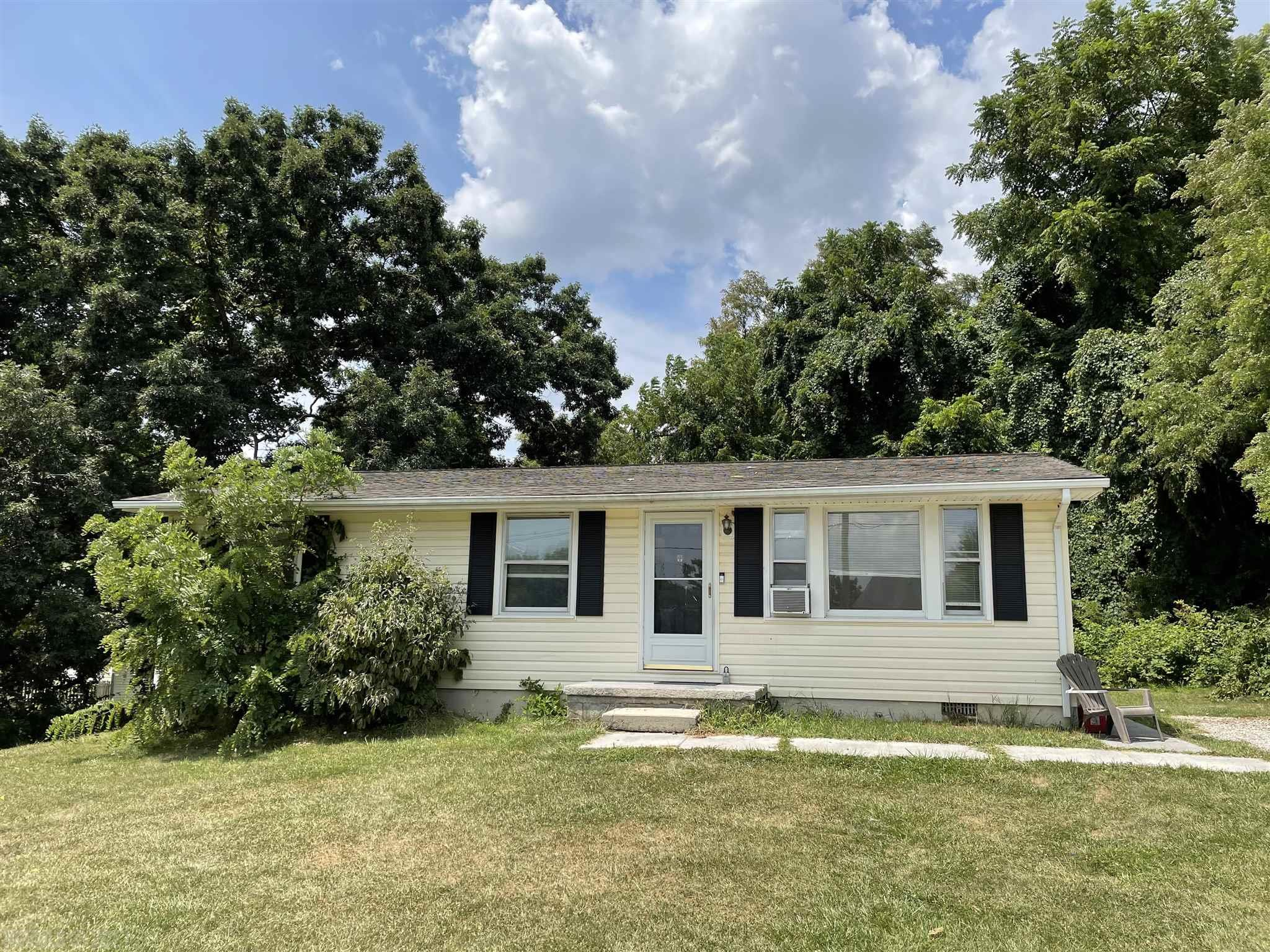 One level ranch style home in convenient location. Nice starter home or house for someone that needs one level living. Newer laminate flooring in part of home and remodeled bathroom. Large lot - almost 1 acre.