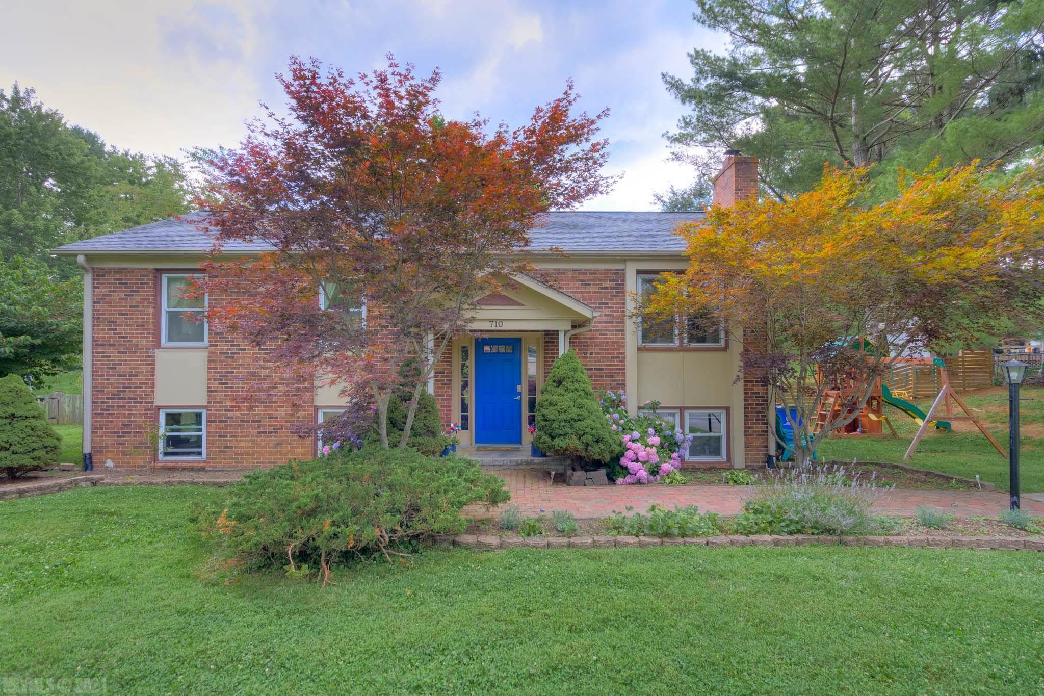 Just one mile from VT and walking distance to downtown, this 4BD/2.5BA home is one you don't want to miss!  The main level is drenched in natural light and has an updated kitchen with stainless appliances, living room is open to the dining room, master bedroom with remodeled half bath and a remodeled full bath in the hallway.  Lower level includes den/rec room, large 4th bedroom, generous full bath with double vanity, laundry room and ample storage areas.  Flat lot has a fenced in backyard, garden area, shed and deck for grilling and entertain or relaxing.  Also within walking distance to elementary school (Gilbert Linkous), grocery shopping, restaurants and post office.  Three BT bus stops nearby.  Virtual Tour and Floor Plans attached.