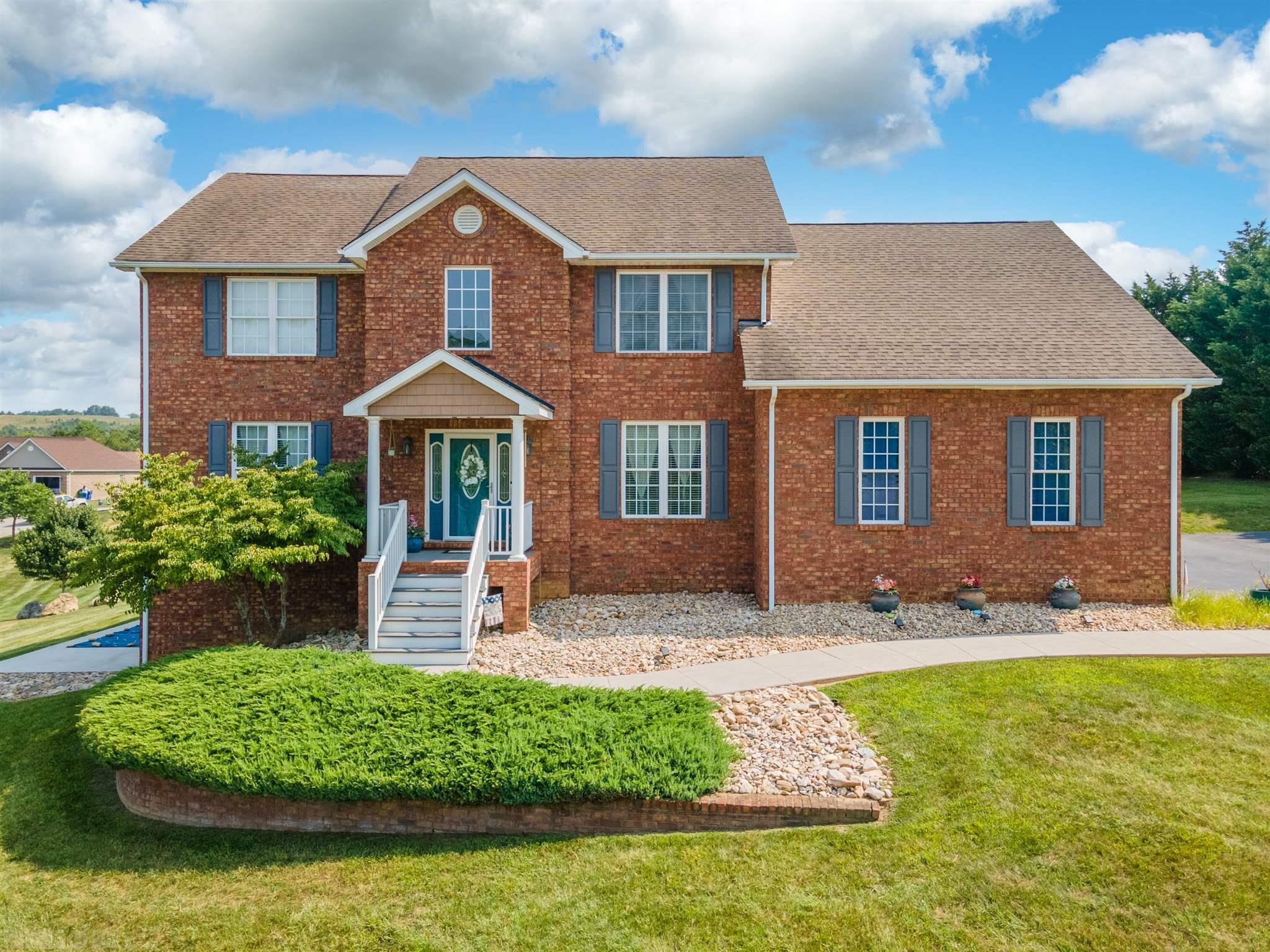 This immaculate 2 story brick home is located in the coveted Windmill Hills subdivision. Home boasts of Large Family Room with Cathedral Ceilings & Nine Foot Ceilings on first level. Main level features a full bath with an office that could be a 4th bedroom suite. Stunning hardwood floors abound throughout the main level- Den, Family Room, Kitchen and Formal Dining Room. Second level features the owner's suite with full bath and ample closet storage! Additional full bath on second level and two additional bedrooms. 285 Alder features a full walkout basement area and ready to expand/finish! This home is close to shopping, dining, Blacksburg, Virginia Tech, the interstate and much more! Schedule a showing today!