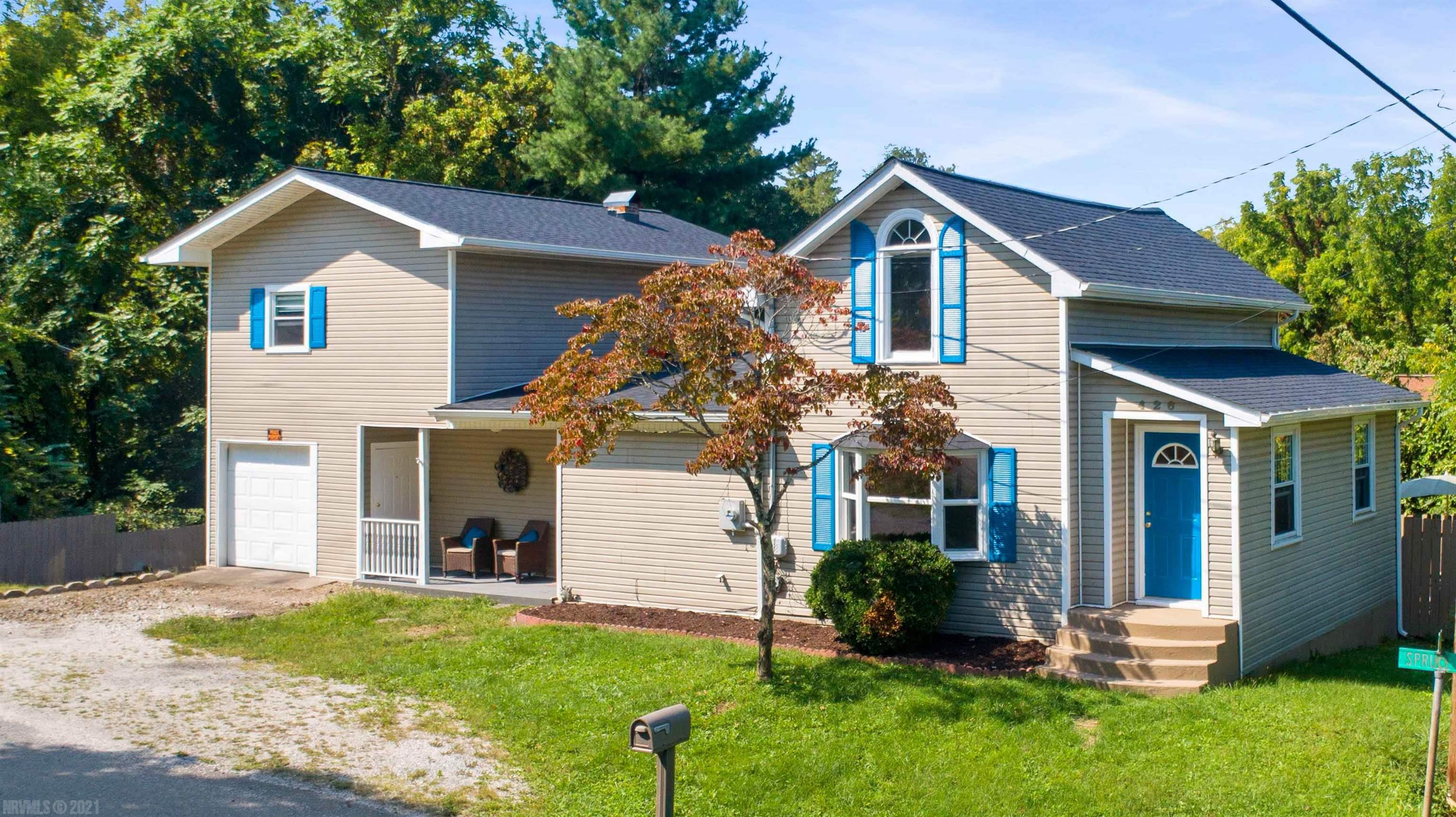 Seller will pay $5,000 for carpet Allowance or CC w/Full Price Offer!!!NEW Roof, NEW Guttering & NEW TREX FLOOR on Front Covered Porch-2021, REMODELED 3 BR & 2 Full Baths, 2 Story Home all ready for you to Move into. On Main Level-LARGE Living Rm, LARGE Kitchen Dining Rm, BR & 2 Full Baths. Master Bedroom upstairs on Left Side- plenty of room to add another Bath & Walk-In Closet. Large Bedroom upstairs on Right Side could be divided into 2 Bedrooms. Att Single Car Garage right off Front Covered Porch. Outside-Privacy Fence around Paver Patio for entertaining. OR, grill out on Your Deck Off the Dining Room. Very Cute Playhouse waiting for your Little Ones to Bring Their Toys & enjoy the Ladder to loft area.  Rnge, Ref., MW, & Front Loading Washer & Dryer Convey(Located on Main Level Off Kitchen). You will enjoy the Central Air on Those Hot Fall Days.   NEW Window - Kitchen & Upstairs Bedroom on Right Side. Stone Kitchen Flue has not been used & conveys as is. NEW Window Blinds convey.