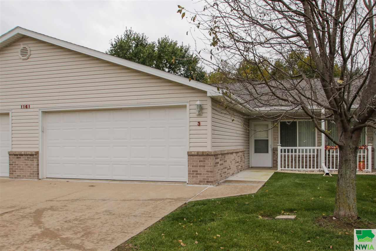 Property for sale at 1161 Meadow View Unit: 3, Sioux City,  Iowa 51106