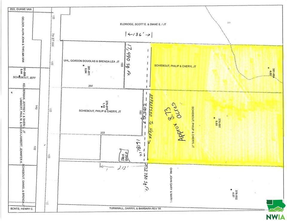 Property for sale at 7th St Nw, Orange City,  Iowa 51041